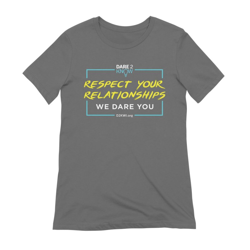 Dare2Know Square Blue Outline Women's T-Shirt by Dare2Know Store