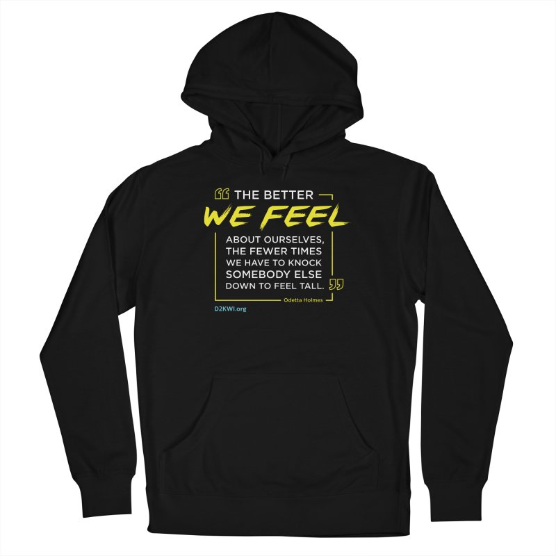 Dare2Know Quote Line - Odetta Holmes Women's Pullover Hoody by Dare2Know Store