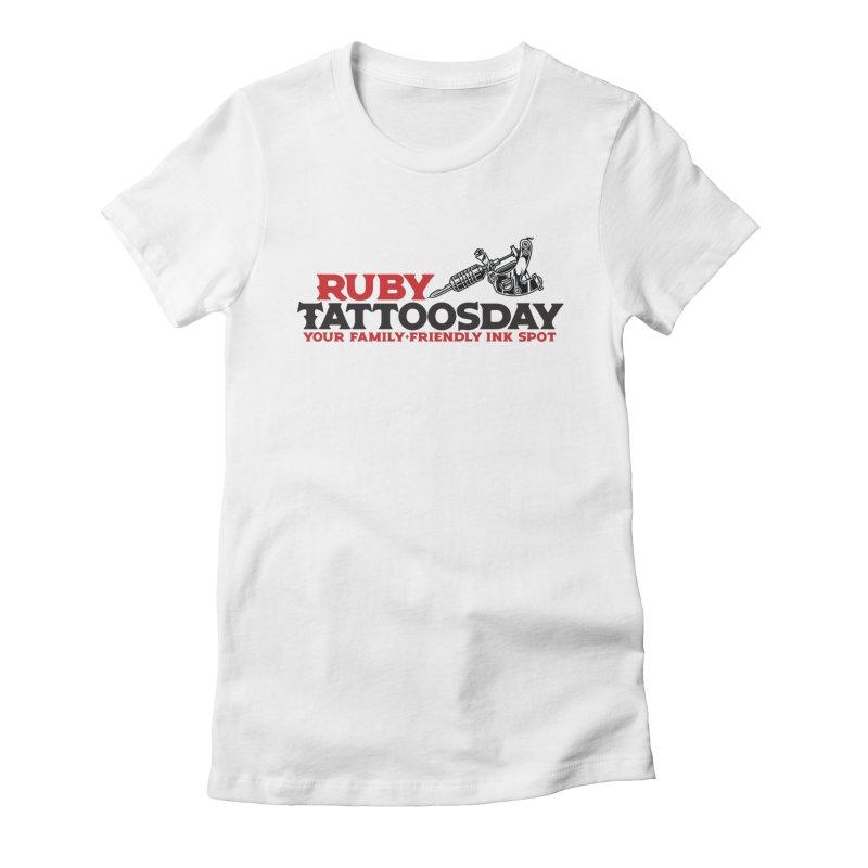 Ruby Tattoosday Women's T-Shirt by DarkGarden