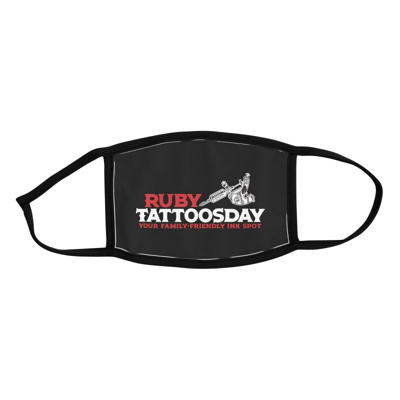 Ruby Tattoosday - Black Accessories Face Mask by DarkGarden