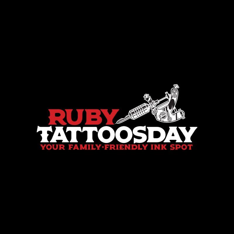 Ruby Tattoosday - Black Men's T-Shirt by DarkGarden