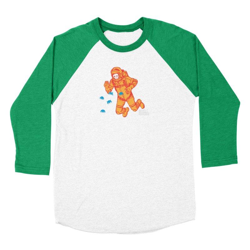Major Tom Women's Baseball Triblend Longsleeve T-Shirt by DarkGarden