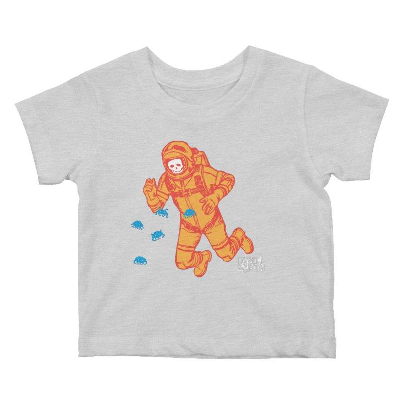 Major Tom Kids Baby T-Shirt by DarkGarden