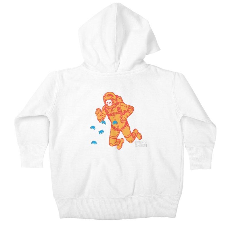 Major Tom Kids Baby Zip-Up Hoody by DarkGarden