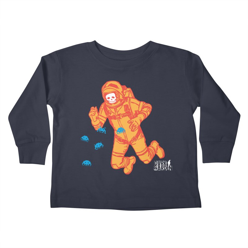 Major Tom Kids Toddler Longsleeve T-Shirt by DarkGarden