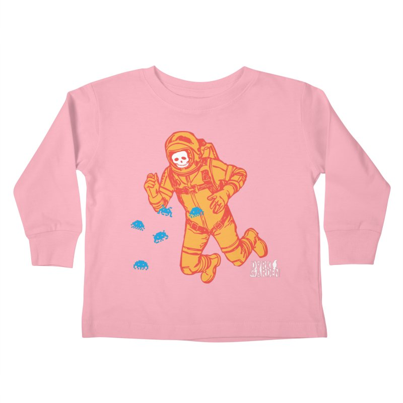 Major Tom Kids Toddler Longsleeve T-Shirt by DarkGarden