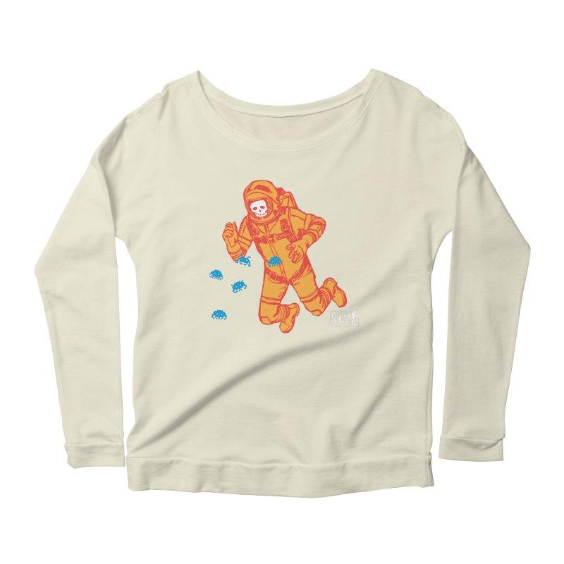 Major Tom Women's Scoop Neck Longsleeve T-Shirt by DarkGarden