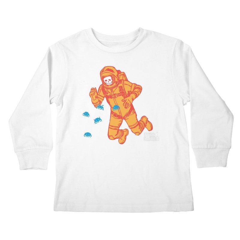 Major Tom Kids Longsleeve T-Shirt by DarkGarden