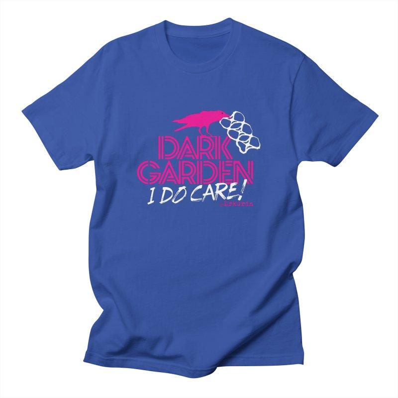 I Do Care! Men's Regular T-Shirt by DarkGarden