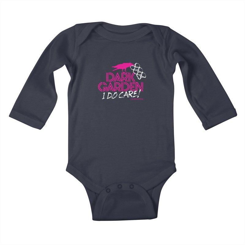 I Do Care! Kids Baby Longsleeve Bodysuit by DarkGarden