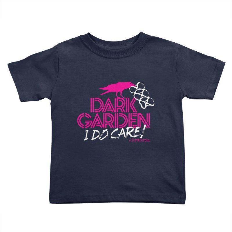 I Do Care! Kids Toddler T-Shirt by DarkGarden