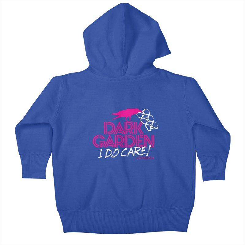 I Do Care! Kids Baby Zip-Up Hoody by DarkGarden