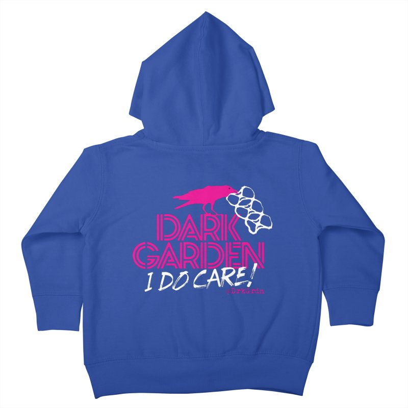 I Do Care! Kids Toddler Zip-Up Hoody by DarkGarden