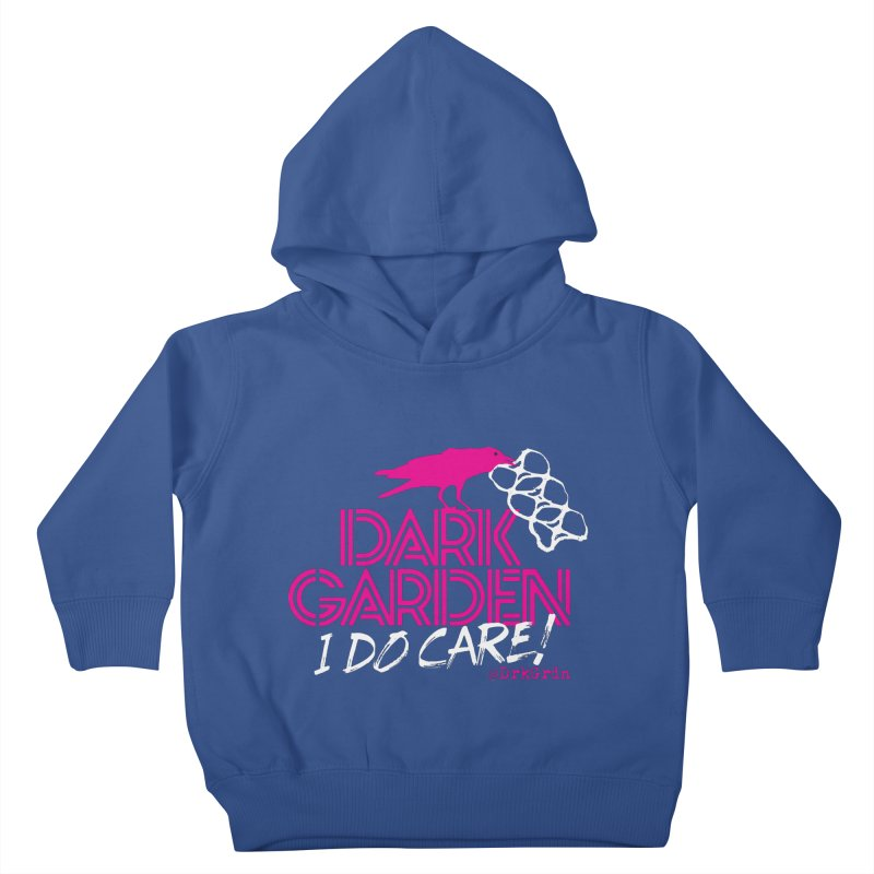 I Do Care! Kids Toddler Pullover Hoody by DarkGarden