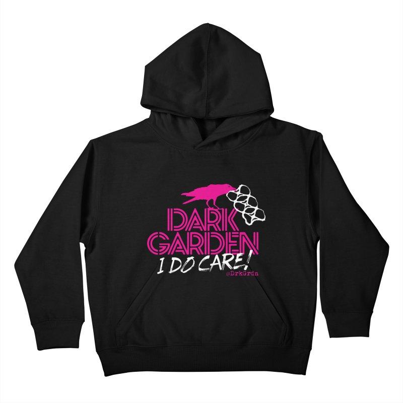 I Do Care! Kids Pullover Hoody by DarkGarden