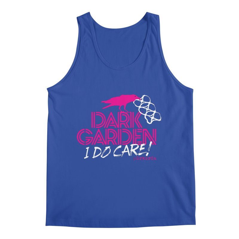 I Do Care! Men's Tank by DarkGarden