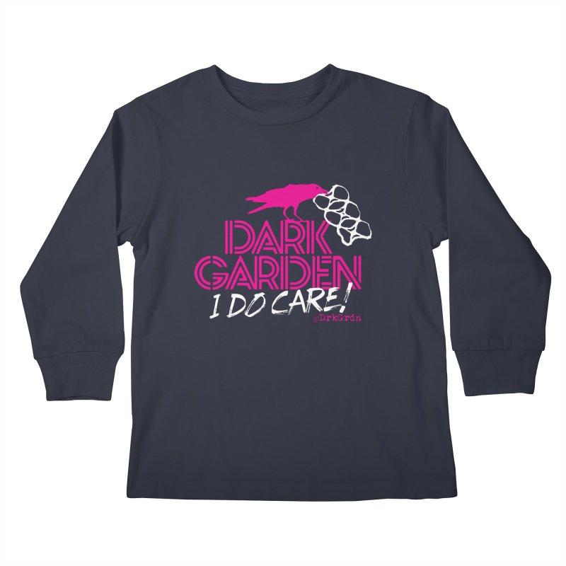 I Do Care! Kids Longsleeve T-Shirt by DarkGarden