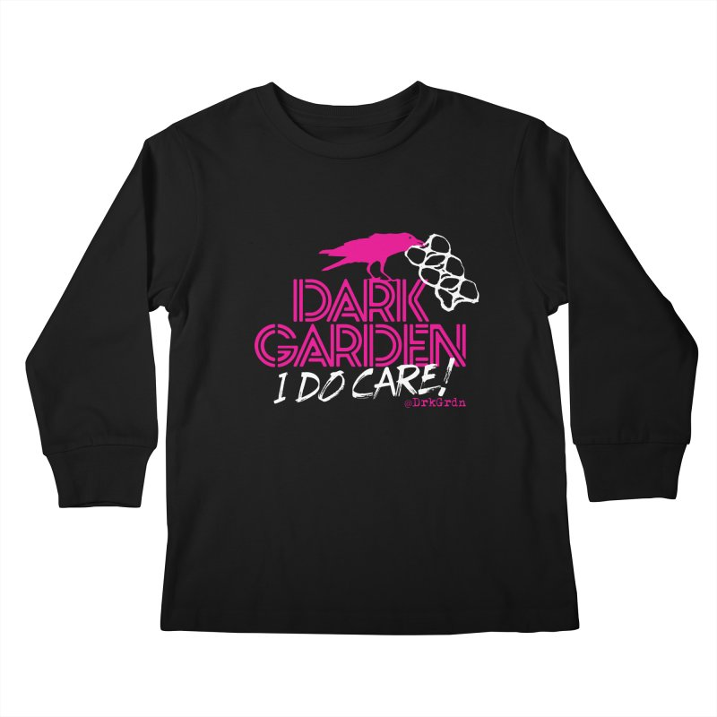 I Do Care! Kids Longsleeve T-Shirt by DarkGarden