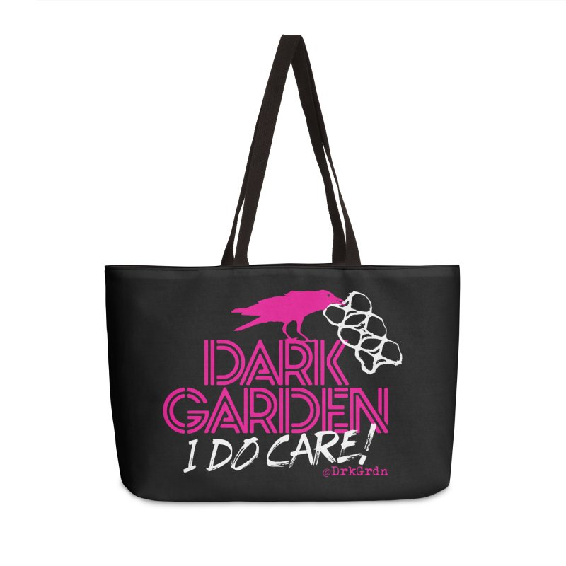 I Do Care! Accessories Weekender Bag Bag by DarkGarden