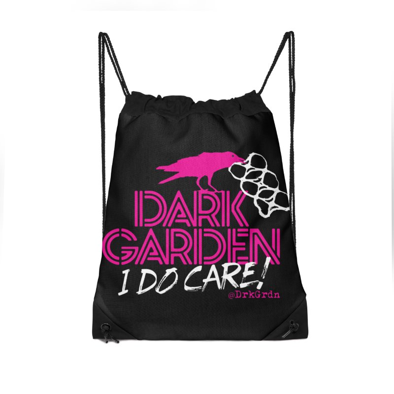 I Do Care! Accessories Drawstring Bag Bag by DarkGarden