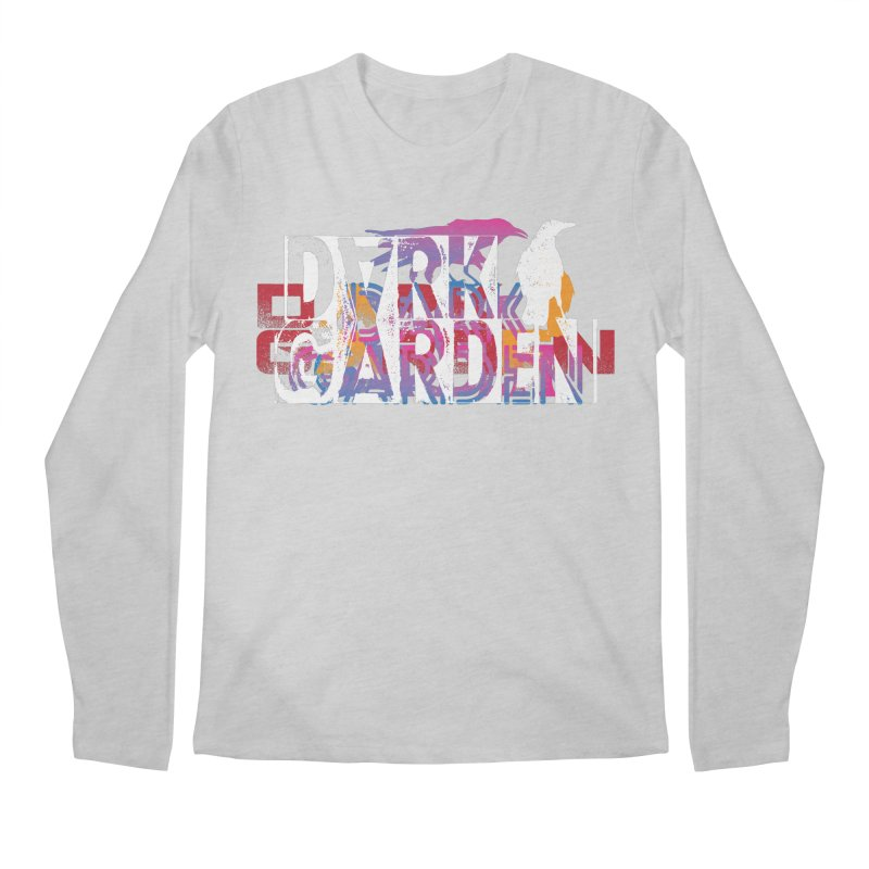 Dark Garden Logo Mash-Up Men's Regular Longsleeve T-Shirt by DarkGarden