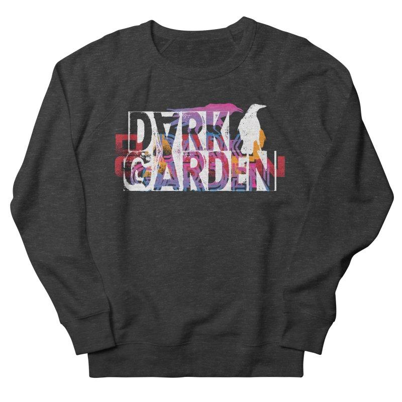 Dark Garden Logo Mash-Up Men's French Terry Sweatshirt by DarkGarden