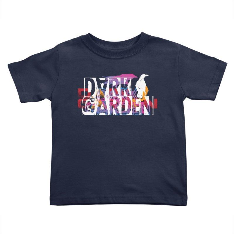 Dark Garden Logo Mash-Up Kids Toddler T-Shirt by DarkGarden