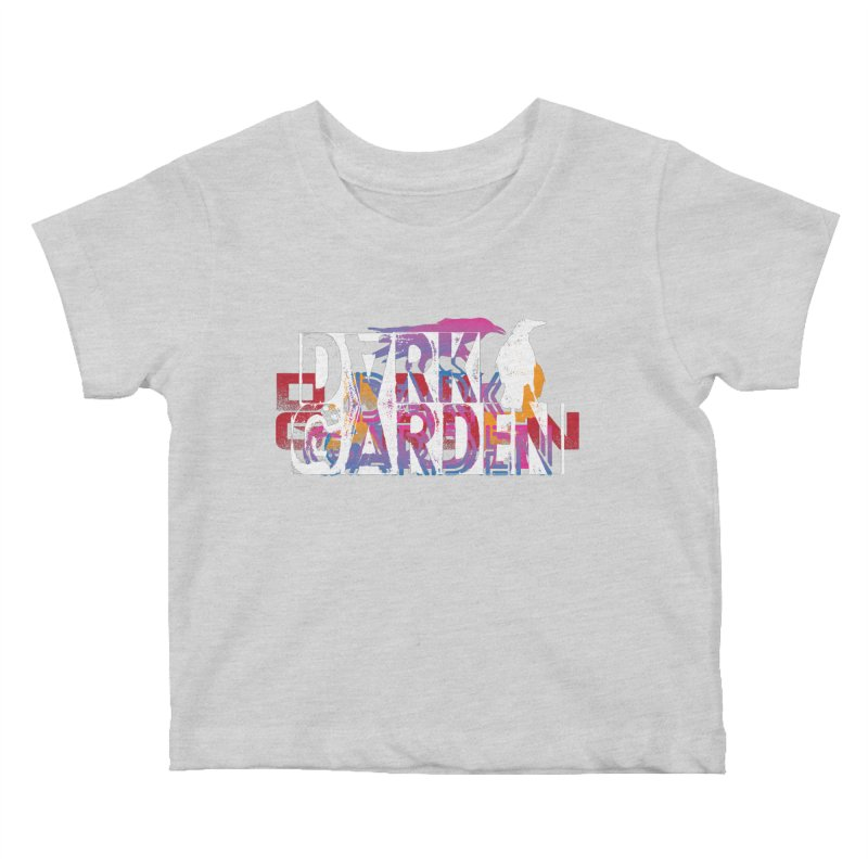 Dark Garden Logo Mash-Up Kids Baby T-Shirt by DarkGarden