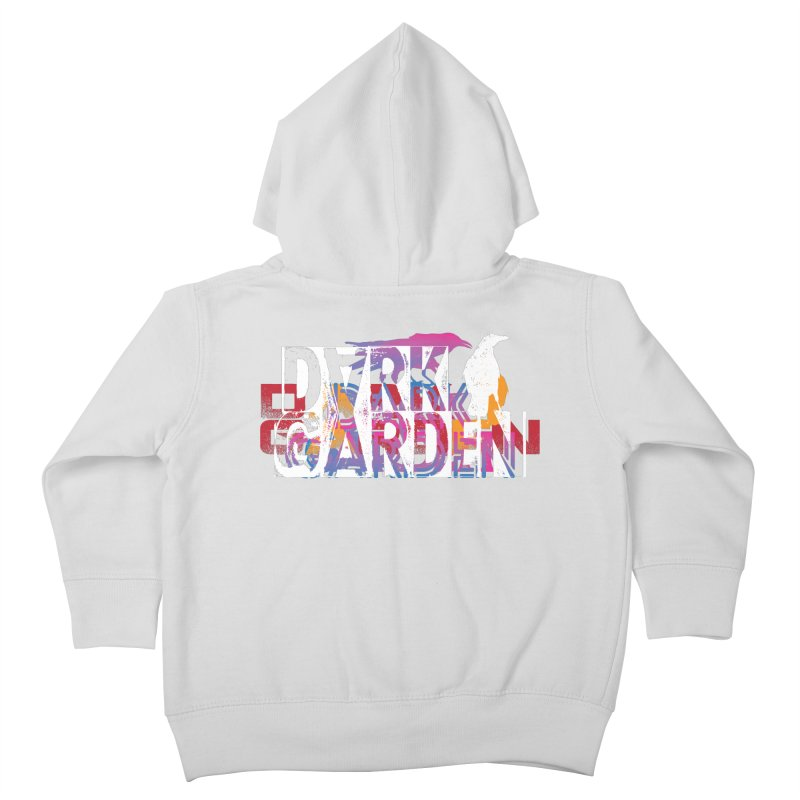 Dark Garden Logo Mash-Up Kids Toddler Zip-Up Hoody by DarkGarden