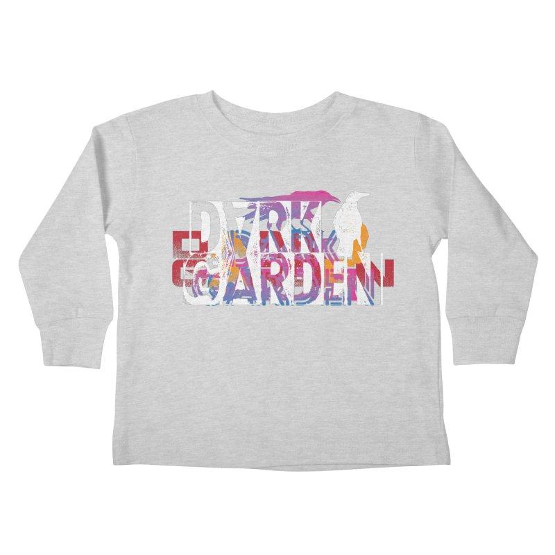 Dark Garden Logo Mash-Up Kids Toddler Longsleeve T-Shirt by DarkGarden