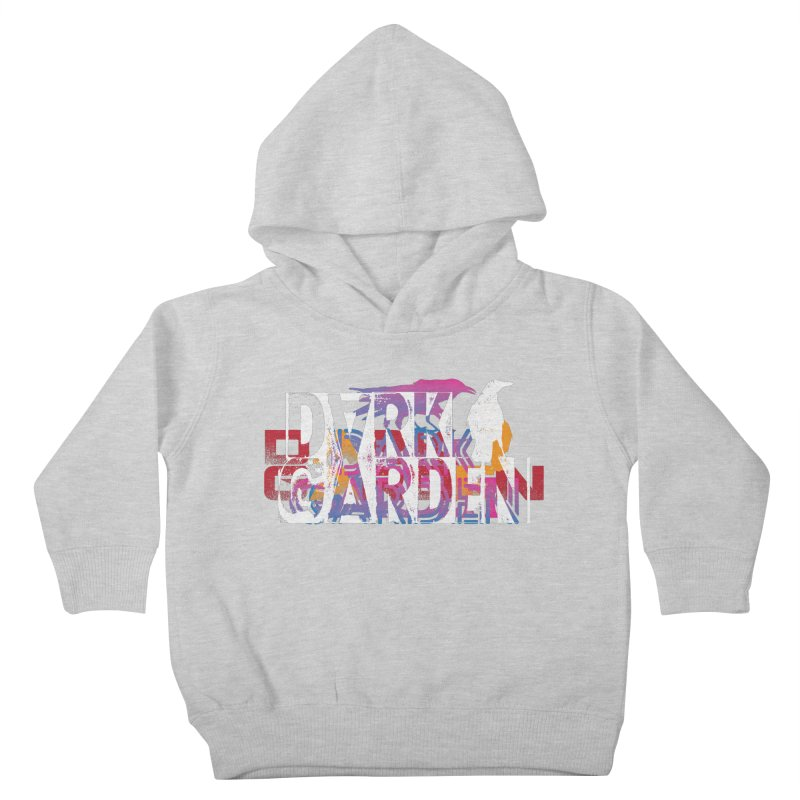 Dark Garden Logo Mash-Up Kids Toddler Pullover Hoody by DarkGarden