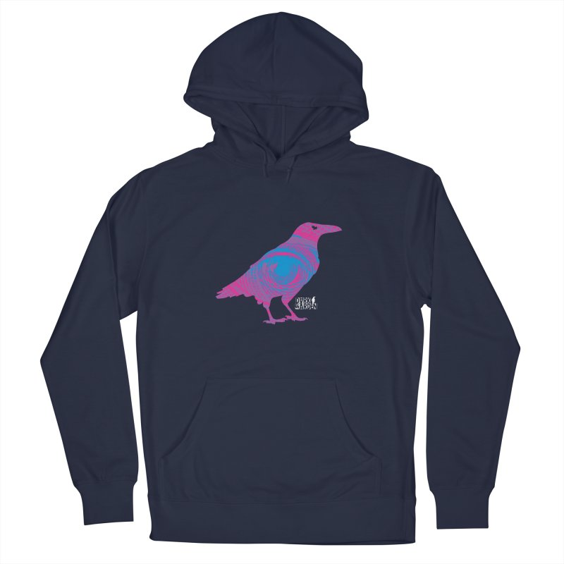The All-Seeing Rook Women's French Terry Pullover Hoody by DarkGarden