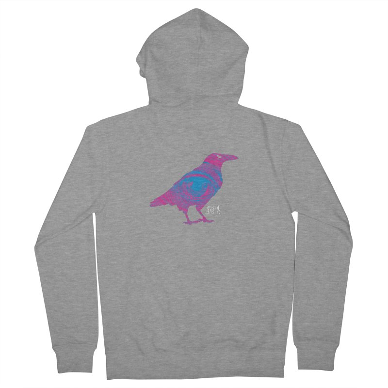 The All-Seeing Rook Women's French Terry Zip-Up Hoody by DarkGarden