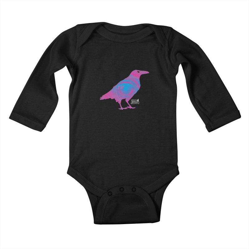The All-Seeing Rook Kids Baby Longsleeve Bodysuit by DarkGarden