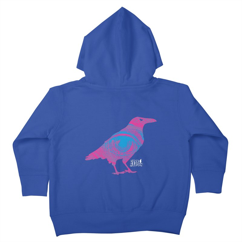 The All-Seeing Rook Kids Toddler Zip-Up Hoody by DarkGarden