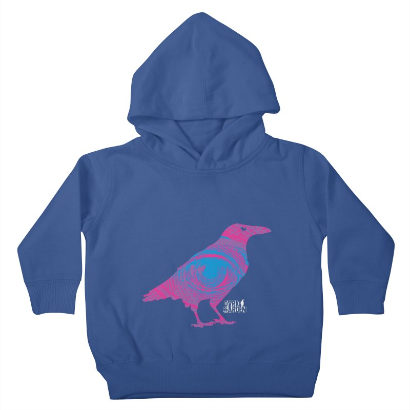 The All-Seeing Rook Kids Toddler Pullover Hoody by DarkGarden