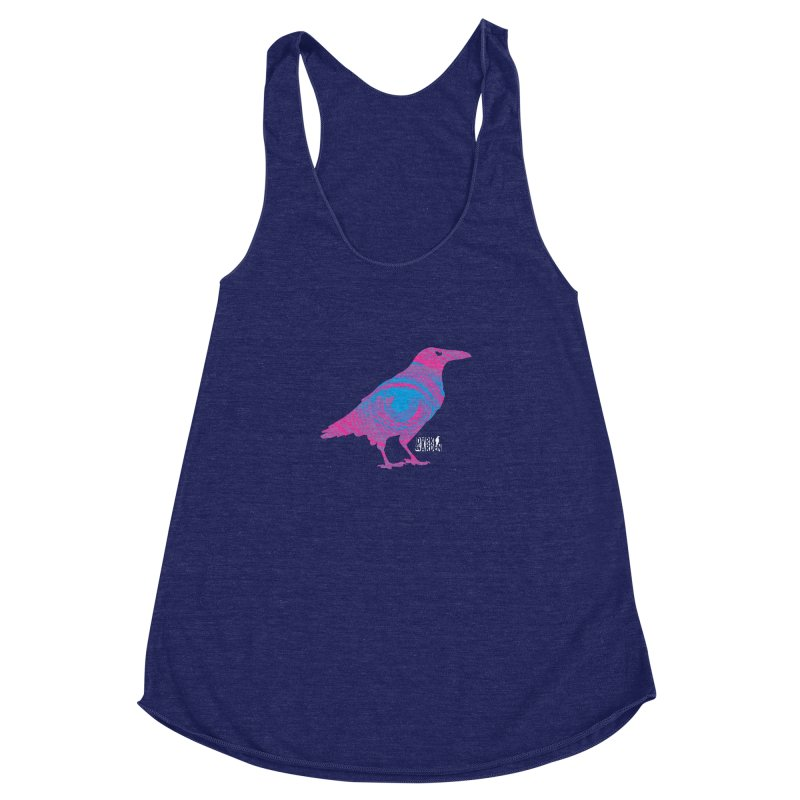 The All-Seeing Rook Women's Racerback Triblend Tank by DarkGarden
