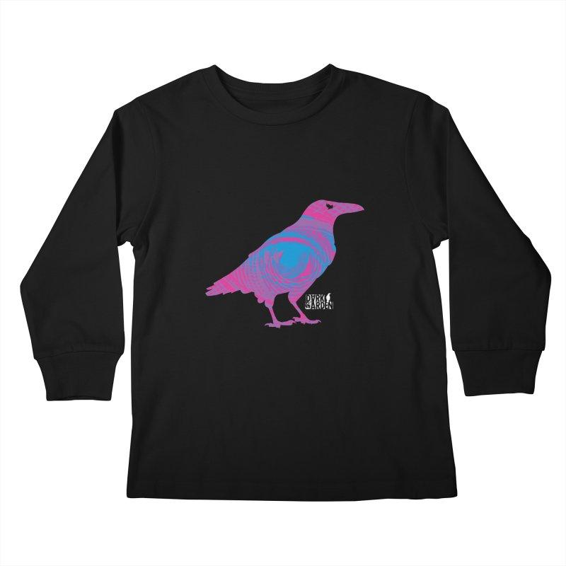The All-Seeing Rook Kids Longsleeve T-Shirt by DarkGarden