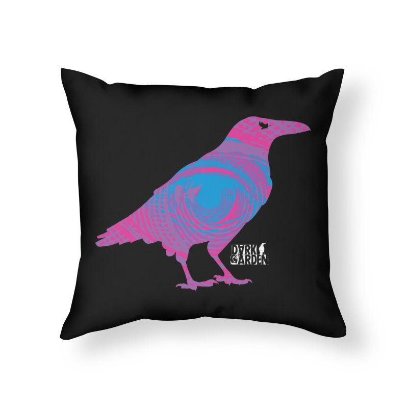 The All-Seeing Rook Home Throw Pillow by DarkGarden