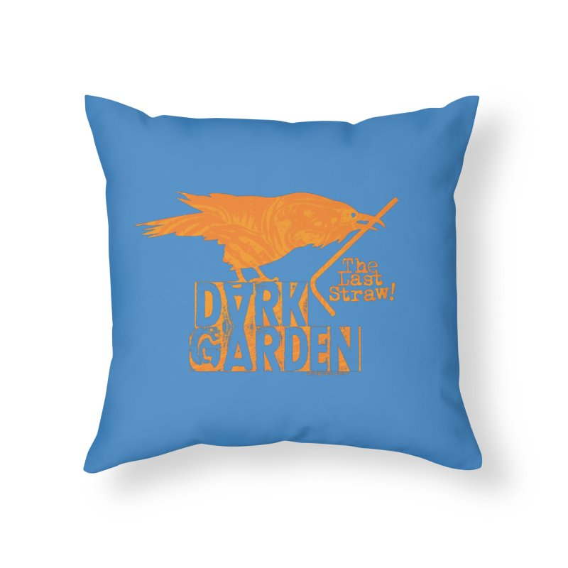 The Last Straw Home Throw Pillow by DarkGarden