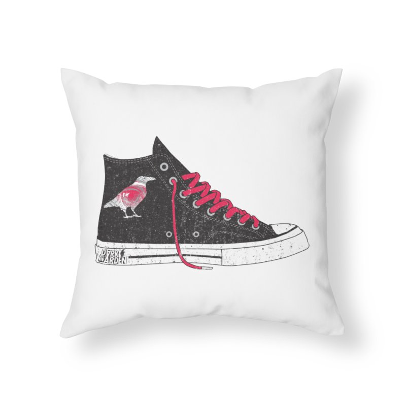 Con Job Home Throw Pillow by DarkGarden