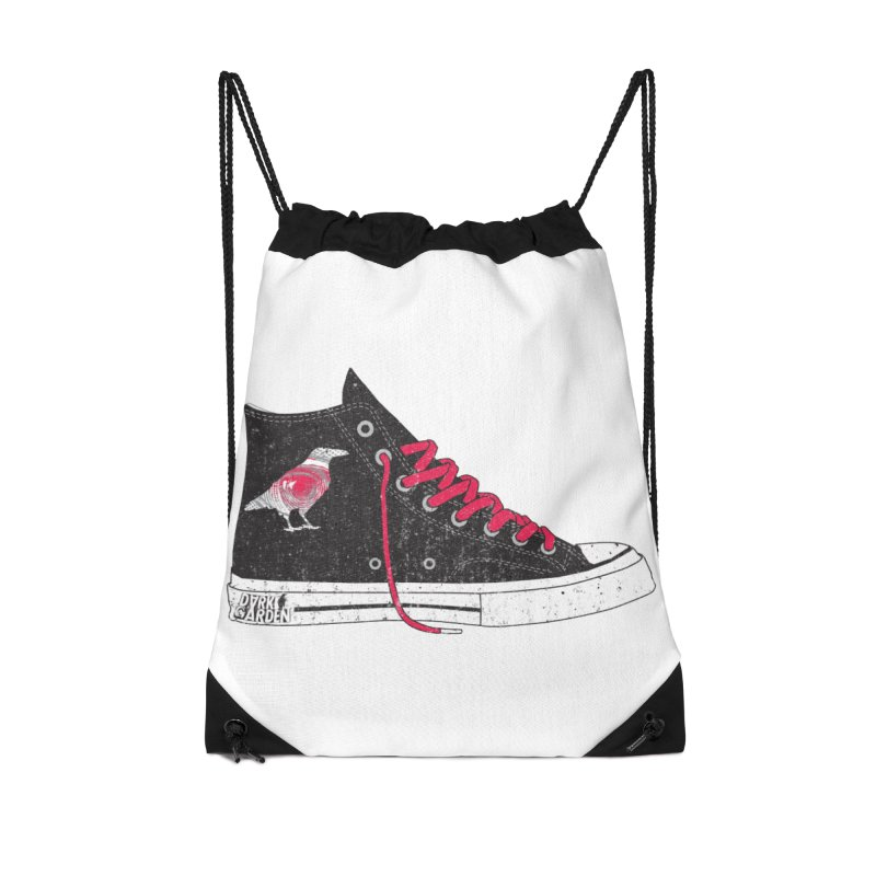 Con Job Accessories Drawstring Bag Bag by DarkGarden