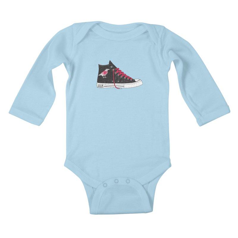 Con Job Kids Baby Longsleeve Bodysuit by DarkGarden