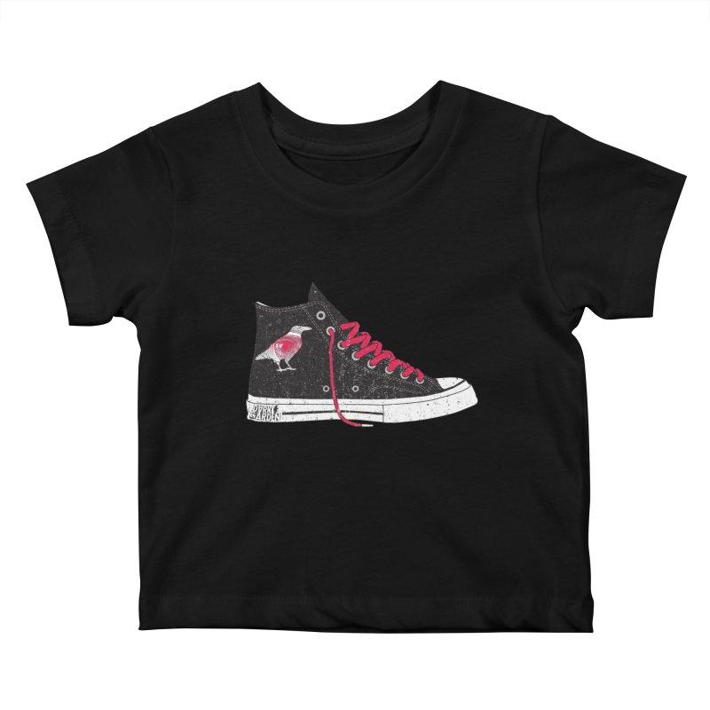 Con Job Kids Baby T-Shirt by DarkGarden