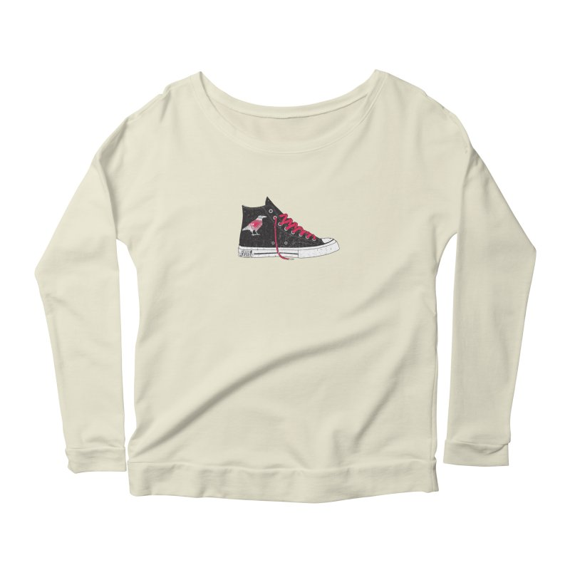 Con Job Women's Scoop Neck Longsleeve T-Shirt by DarkGarden
