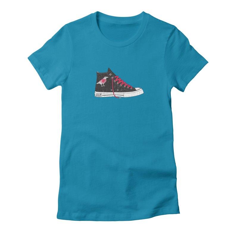 Con Job Women's Fitted T-Shirt by DarkGarden