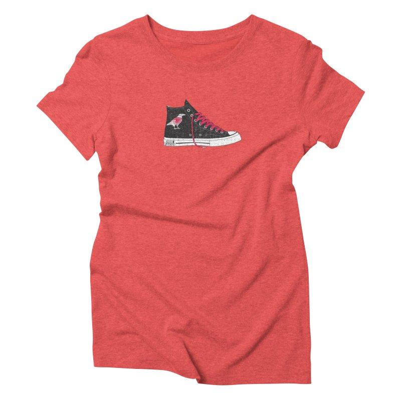Con Job Women's Triblend T-Shirt by DarkGarden