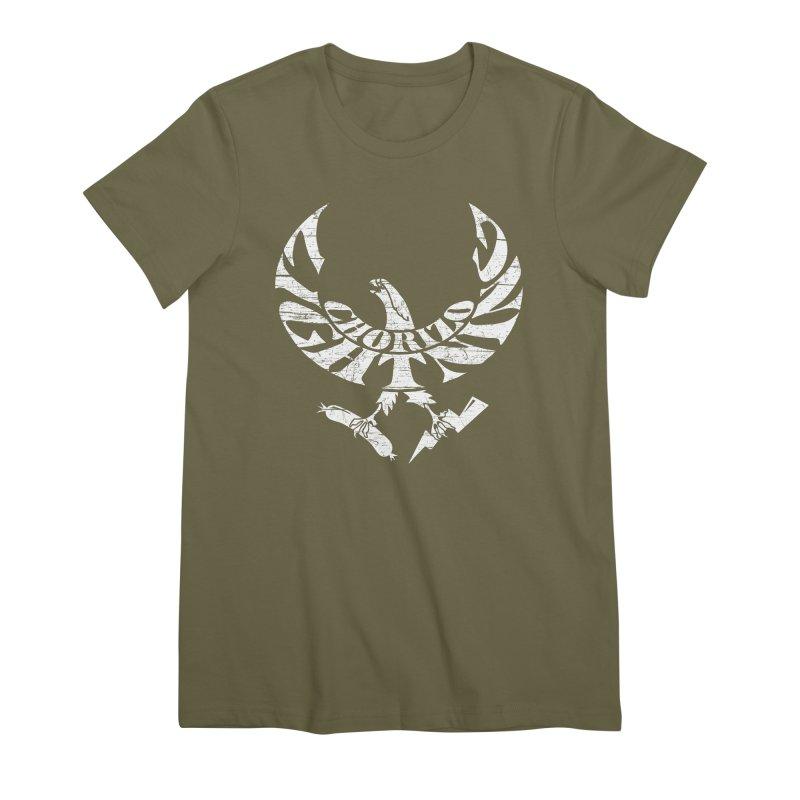 Chorizo Lightning Women's Premium T-Shirt by Dave Tees