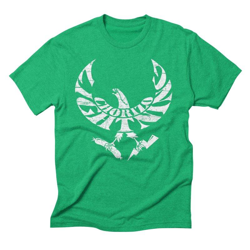 Chorizo Lightning Men's Triblend T-Shirt by Dave Tees
