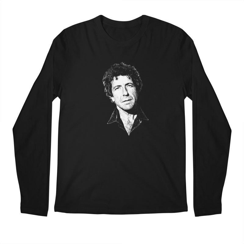 I'm Your Man (Leonard Cohen) Men's Regular Longsleeve T-Shirt by Dave Tees